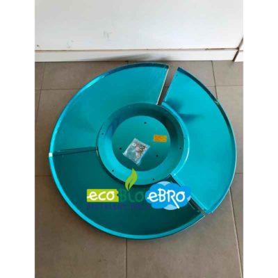 RECAMBIO SOMBRERETE ESTUFAS EXTERIOR HSS tipo seta (reflector) ecobioebro