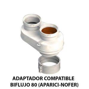 ADAPTADOR-COMPATIBLE--BIFLUJO-80-(APARICI-NOFER)-ECOBIOEBRO