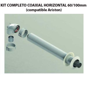 KIT-COMPLETO-COAXIAL-HORIZONTAL-60100mm-(compatible-Ariston)-ECOBIOEBRO