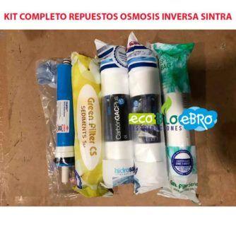 AMBIENTE KIT COMPLETO REPUESTOS OSMOSIS INVERSA SINTRA ECOBIOEBRO