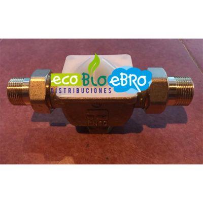 Válvula de zona con pistón de tres vías 3/4″ (CALEFFI)
