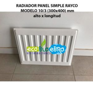 RADIADOR-PANEL-SIMPLE-RAYCO-MODELO-103-(300x400)-mm-alto-x-longitud-ecobioebro