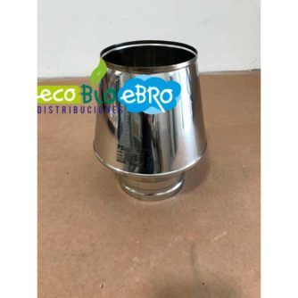 TERMINAL-CONO-SALIDA-LIBRE-INOX-Ø-110-Ø-125-Ø-160-Ø-200-Ø-250-Ø-300-(Condensación)-ECOBIOEBRO