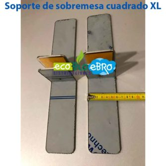 Soporte de sobremesa cuadrado XL ecobioebro