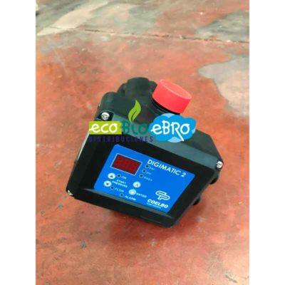Controlador digital automático para la protección y control de electrobombas DIGIMATIC 2 ECOBIOEEBRO
