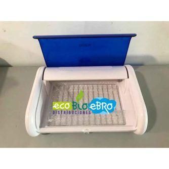 Vista interior Esterilizador UV LED Gran Capacidad Tipo Caja ecobioebro