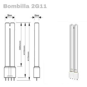 BOMBILLA LÁMPARA GERMICIDA LB-UVC-1 LED BAY ecobioebro