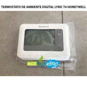 TERMOSTATO DE AMBIENTE DIGITAL LYRIC T4 HONEYWELL ECOBIOEBRO