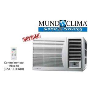 ACONDICIONADOR DE VENTANA SERIE MUVR-C9 (GAS R-32) ecobioebro