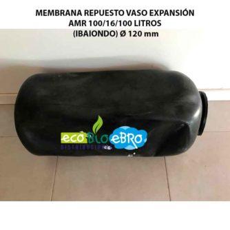 MEMBRANA REPUESTO VASO EXPANSIÓN AMR 100-16 LITROS (IBAIONDO) Ø 120 mm ecobioebro