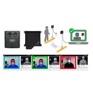 ambiente ficha Cámara térmica específica para la detección de temperatura en personas Seek Scan ecobioebro