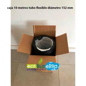 caja 10 metros tubo flexible combidec diametro 152 mm ecobioebro