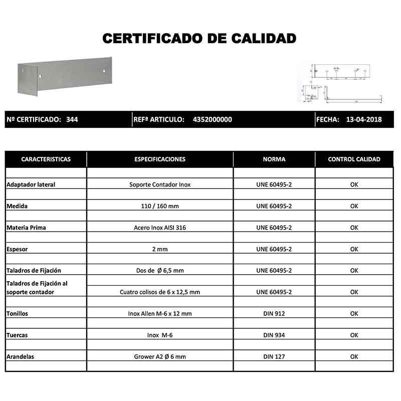 CERTIFICADO-CALIDAD-ADAPTADOR-LATERAL-INOX-ECOBIOEBRO