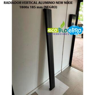 RADIADOR-VERTICAL-ALUMINIO-NEW-NIXIE-1800x185-mm-negro ecobioebro
