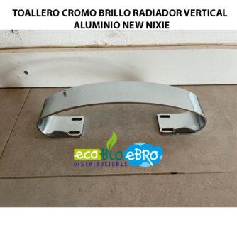 TOALLERO-CROMO-BRILLO-RADIADOR-VERTICAL-ALUMINIO-NEW-NIXIE ecobioebro