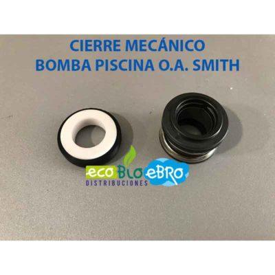CIERRE MECÁNICO BOMBA PISCINA O.A. SMITH ecobioebro