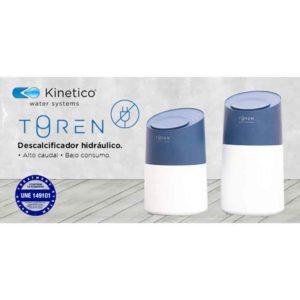 Descalcificador hidráulico Toren Kinetico ecobioebro