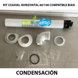 KIT-COAXIAL-HORIZONTAL-60100-COMPATIBLE-BIASI-CONDENSACION ecobioebro