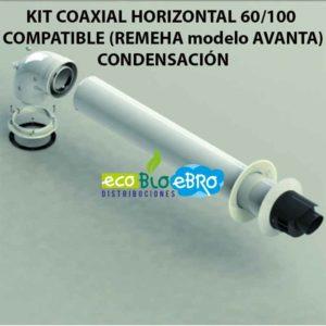 KIT-COAXIAL-HORIZONTAL-60100-COMPATIBLE-(REMEHA-modelo-AVANTA) ecobioebro