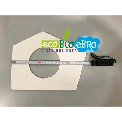 Medidas Repuesto-junta-manta-brida-extractor-estufa-CANTINA-SUPER-29-KW-(Ecoforest)-ecobioebro