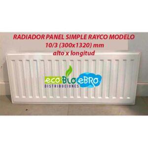 RADIADOR-PANEL-SIMPLE-RAYCO-MODELO-103-(300x1320)-mm-ecobioebro