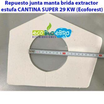 Repuesto-junta-manta-brida-extractor-estufa-CANTINA-SUPER-29-KW-(Ecoforest)-ecobioebro