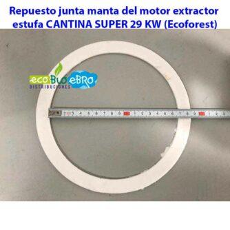 Repuesto-junta-manta-del-motor-extractor-estufa-CANTINA-SUPER-29-KW-(Ecoforest)-ecobioebro