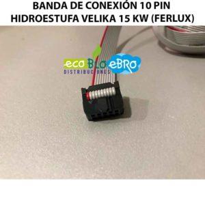 VISTA-BANDA-DE-CONEXIÓN-10-PIN-HIDROESTUFA-VELIKA-15-KW-(FERLUX)-ecobioebro