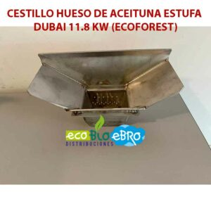 AMBIENTE CESTILLO-HUESO-DE-ACEITUNA-ESTUFA-DUBAI-11.8 KW (ECOFOREST) ecobioebro