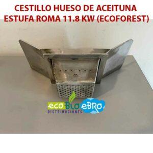 AMBIENTE CESTILLO-HUESO-DE-ACEITUNA-ESTUFA-ROMA-11.8 KW (ECOFOREST) ecobioebro