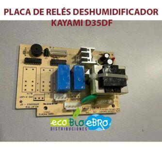 PLACA-DE-RELÉS-DESHUMIDIFICADOR-KAYAMI-D35DF-ecobioebro