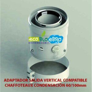 ADAPTADOR-SALIDA-VERTICAL-COMPATIBLE-CHAFFOTEAUX-CONDENSACIÓN-60100mm-ecobioebro