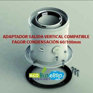 ADAPTADOR-SALIDA-VERTICAL-COMPATIBLE-FAGOR-CONDENSACIÓN-60100mm ecobioebro
