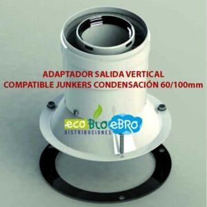 ADAPTADOR-SALIDA-VERTICAL-COMPATIBLE-JUNKERS-CONDENSACIÓN-60100mm-ecobioebro