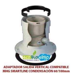ADAPTADOR-SALIDA-VERTICAL-COMPATIBLE-MHG-SMARTLINE-CONDENSACIÓN-60100mm-ecobioebro