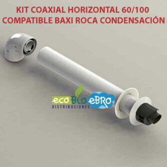 KIT-COAXIAL-HORIZONTAL-60100-COMPATIBLE-BAXI-ROCA-CONDENSACIÓN ecobioebro