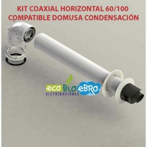KIT-COAXIAL-HORIZONTAL-60100-COMPATIBLE-DOMUSA-CONDENSACIÓN ecobioebro