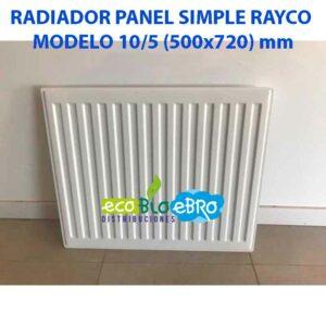 RADIADOR-PANEL-SIMPLE-RAYCO-MODELO-105-(500x720)-mm ecobioebro