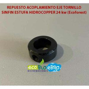 REPUESTO ACOPLAMIENTO EJE TORNILLO SINFIN ESTUFA HIDROCOPPER 24 kw (Ecoforest)