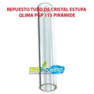 REPUESTO-TUBO-DE-CRISTAL-ESTUFA-QLIMA-PGP-113-PIRÁMIDE-ecobioebro