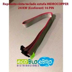 Repuesto-cinta-teclado-estufa-HIDROCOPPER-24-KW-(Ecoforest)-16-pin-ecobioebro