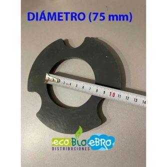 diametro (75-mm) brida ecobioebro