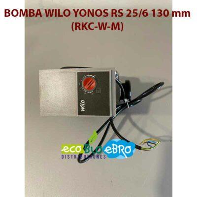 BOMBA WILO YONOS RS 25/6 130 mm (RKC-W-M)