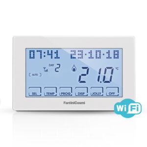 Cronotermostato-semanal-WiFi-Intellicomfort-CH180WIFI-(Fantini-Cosmi)-ecobioebro