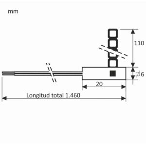 ESQUEMA-Sonda-Sonamb-301-Pt1000-con-Abrazadera-(Ideal-para-fijar-en-conductos) ecobioebro