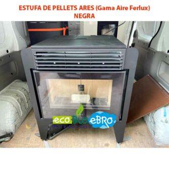 ESTUFA-DE-PELLETS-ARES-(Gama-Aire-Ferlux)-negra-ecobioebro