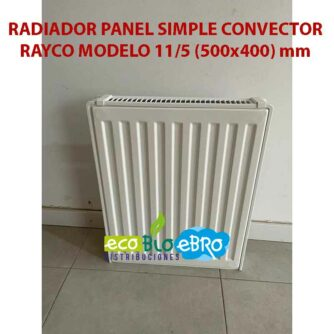RADIADOR-PANEL-SIMPLE-CONVECTOR-RAYCO-MODELO-115-(500x400)-mm-ecobioebro