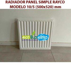 RADIADOR-PANEL-SIMPLE-RAYCO-MODELO-105-(500x520)-mm ecobioebro