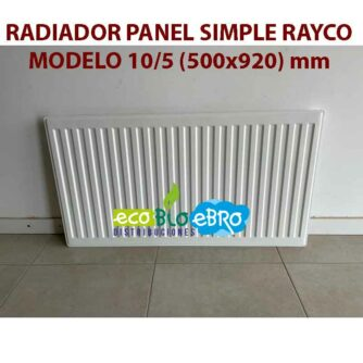 RADIADOR-PANEL-SIMPLE-RAYCO-MODELO-105-(500x920)-mm-ecobioebro