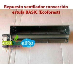 Repuesto ventilador convección estufa BASIC (Ecoforest)